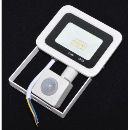Proiector cu LED si senzor de prezenta 220V (10-100W) [0]