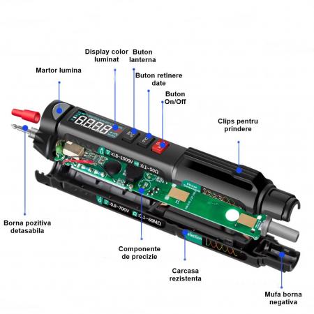 SmartPen - Multimetru digital automat tip stilou [2]