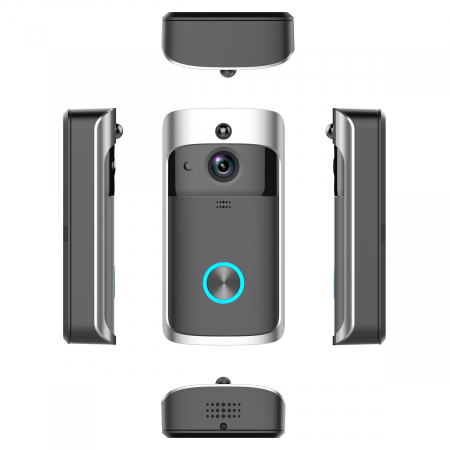 Sonerie fara fir cu monitorizare video si audio [4]