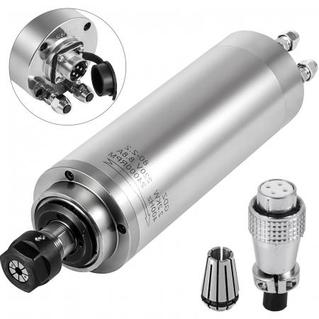 Spindle CNC 2.2/3kw 220V ER20 racire apa [0]
