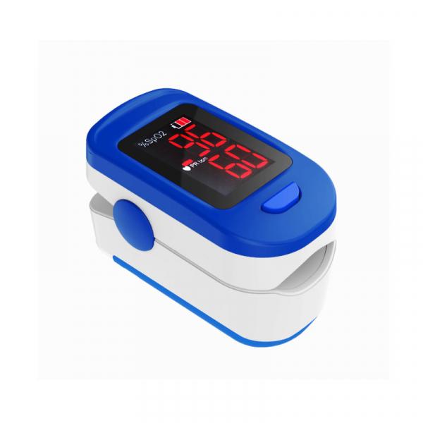 Pulsoximetru RedLine FS10C, alb-albastru, indica nivelul de saturatie a oxigenului, masoara rata pulsului 1