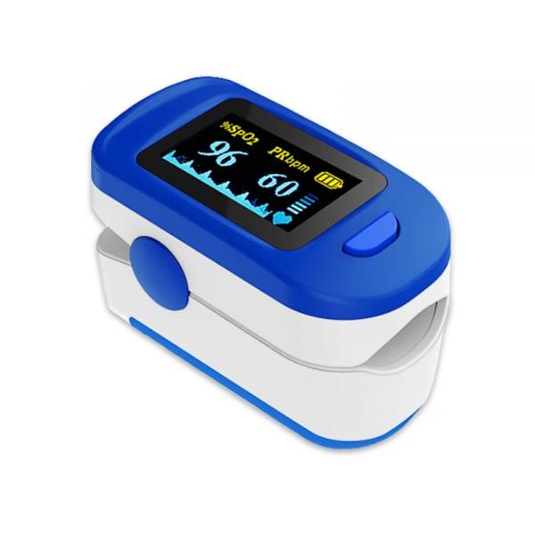 Pulsoximetru RedLine FS20C, alb-albastru, indica nivelul de saturatie a oxigenului, masoara rata pulsului [1]