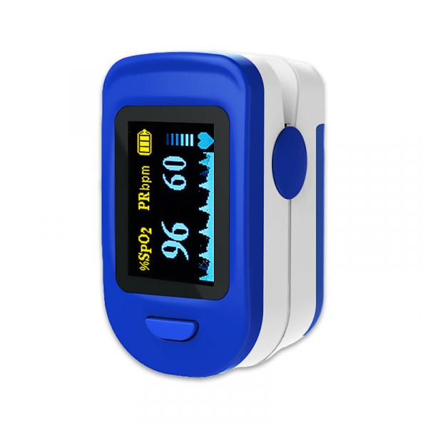 Pulsoximetru RedLine FS20C, alb-albastru, indica nivelul de saturatie a oxigenului, masoara rata pulsului [0]