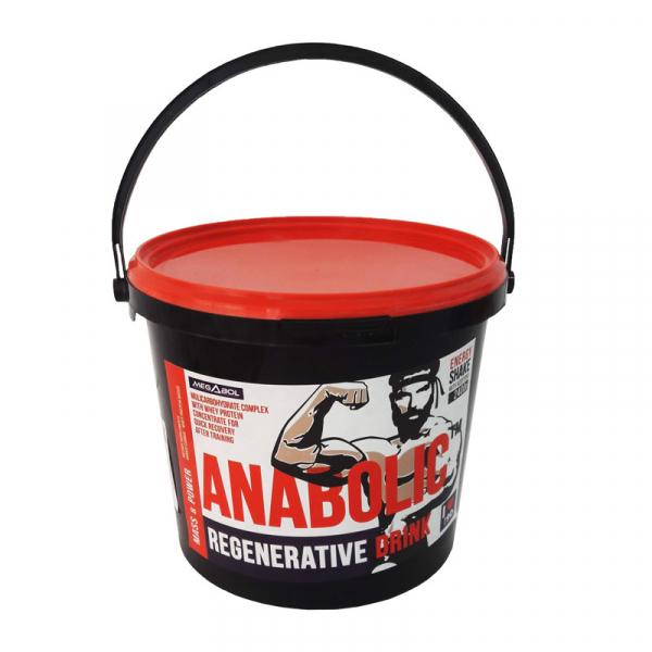 Supliment Megabol ANABOLIC 2400 g, proteine, carbohidrati, creatina si aminoacizi pentru recuperare rapida dupa antrenament 1