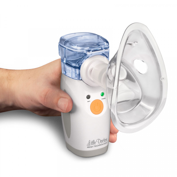Aparat aerosoli portabil Little Doctor LD 207U, cu ultrasunete si tehnologie mesh 3