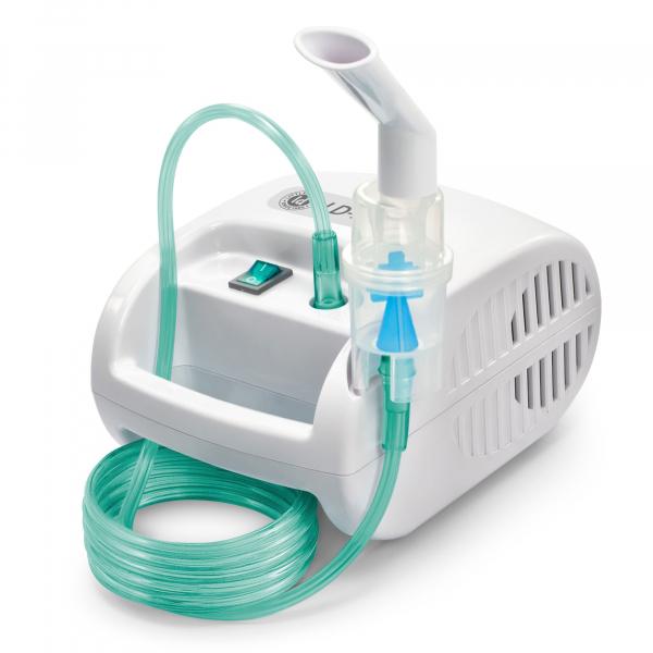 Aparat aerosoli cu compresor Little Doctor LD-221C PRO, 3 dispensere pentru reglarea dimensiunii particulelor, 3 masti, furtun de 6 m 2