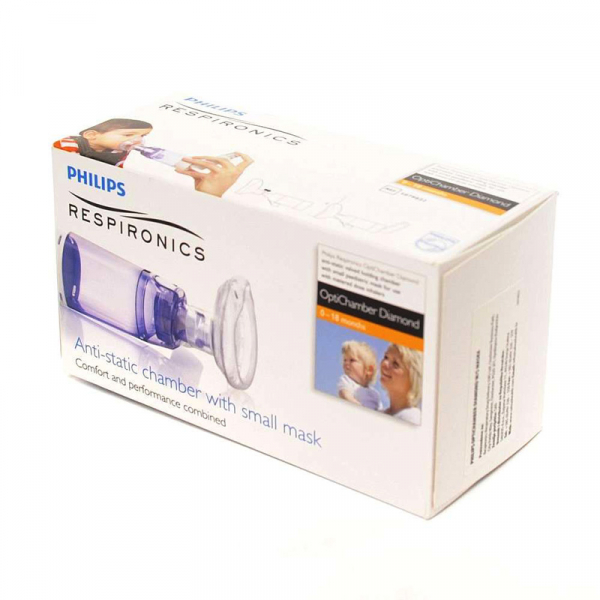 Camera de inhalare Optichamber Diamond, Philips Respironics, cu masca 0-18 luni 1