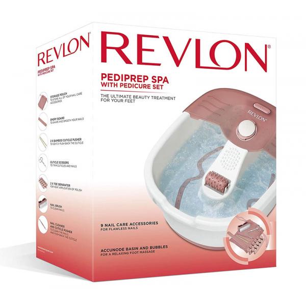 Aparat de hidromasaj pentru picioare REVLON Foot Spa plus set pentru pedichiura 3