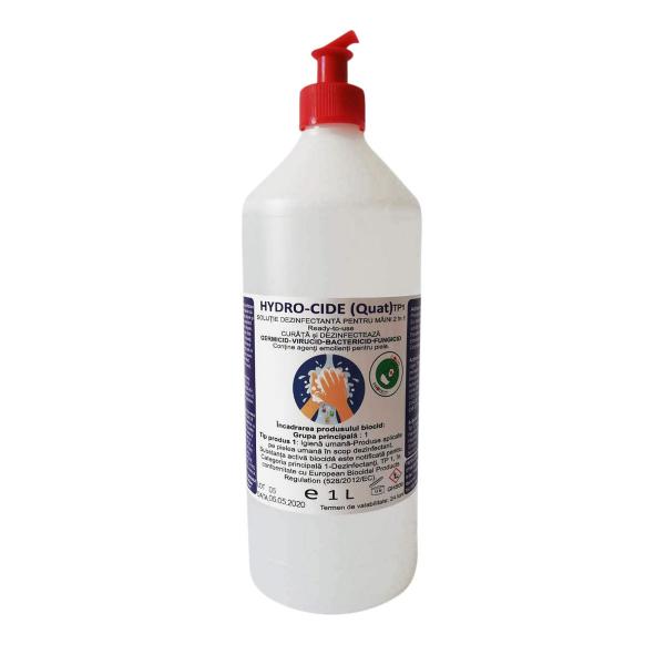 Dezinfectant pentru maini Hydro-Cide (Quat) TP1, 1L 0