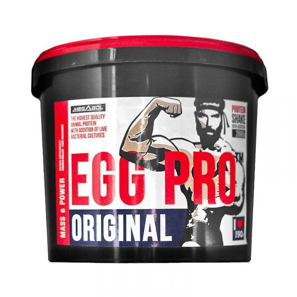 Supliment de proteine Megabol EGG PRO 2000 gr, pentru cresterea masei musculare 0