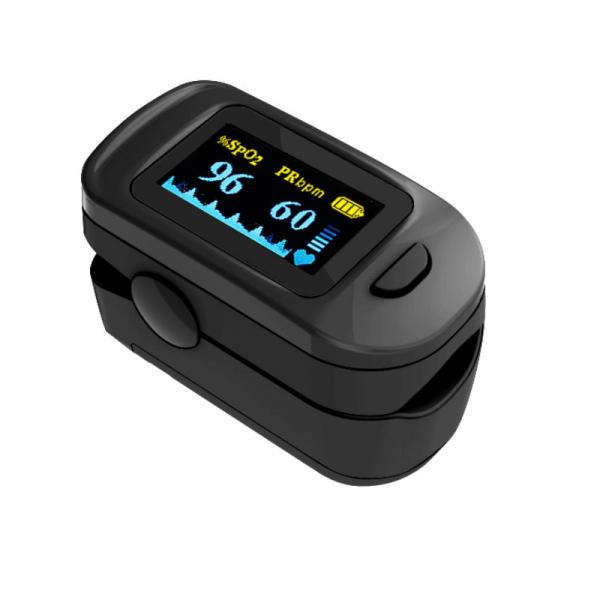 Pulsoximetru RedLine FS20C, negru,  indica nivelul de saturatie a oxigenului, masoara rata pulsului 2