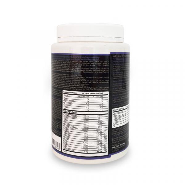 Complex pentru articulatii Megabol Flex Drink, colagen 10 000mg, glucozamina, condroitina, acid hialuronic, vitamine si lecitina 1