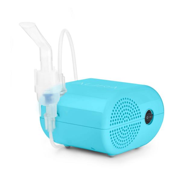 Aparat aerosoli VITAMMY Aura, nebulizator cu compresor, zgomot redus 52 dB 1