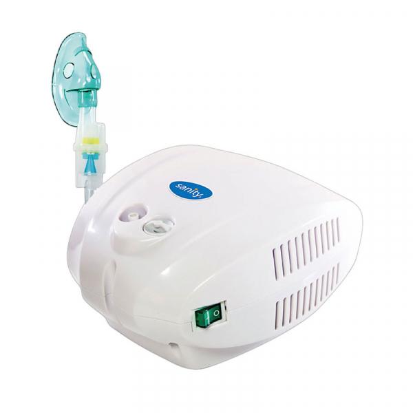 Aparat aerosoli cu compresor Sanity Alergia Stop Inhaler PRO, MMAD 3 µm, 3 masti (adulti, copii si bebelusi) 1