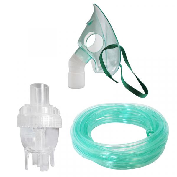 Kit accesorii pentru aparat aerosoli cu compresor Redline NB-6, furtun de 6 m si masca medie rotativa, recomandat pentru copii mici [0]