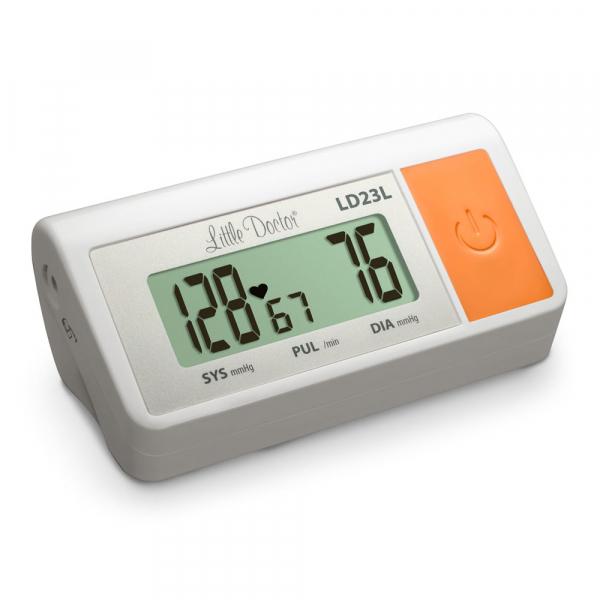 Tensiometru electronic de brat Little Doctor LD 23L, manseta 36-43 cm, adaptor priza inclus, Alb 1