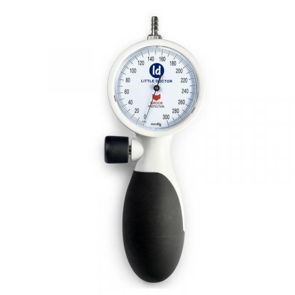 Tensiometru mecanic de brat Little Doctor LD 91, profesional, rezistent la socuri, stetoscop inclus 1
