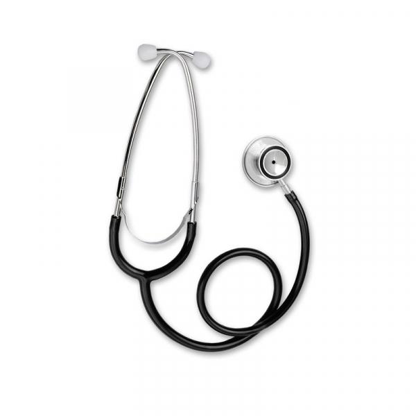 Stetoscop Little Doctor LD Prof I, stetoscop metalic utilizabil pe ambele parti, diafragma mare, Negru/Inox 2