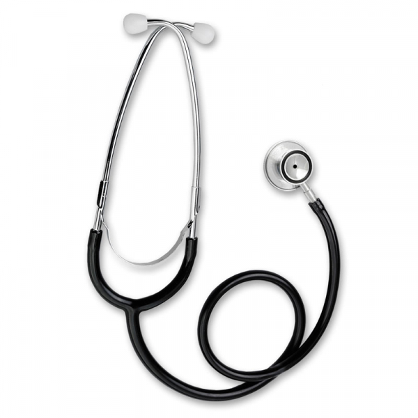 Stetoscop Little Doctor LD Prof II, stetoscop metalic utilizabil pe ambele parti, diafragma mica, Negru/Inox 2