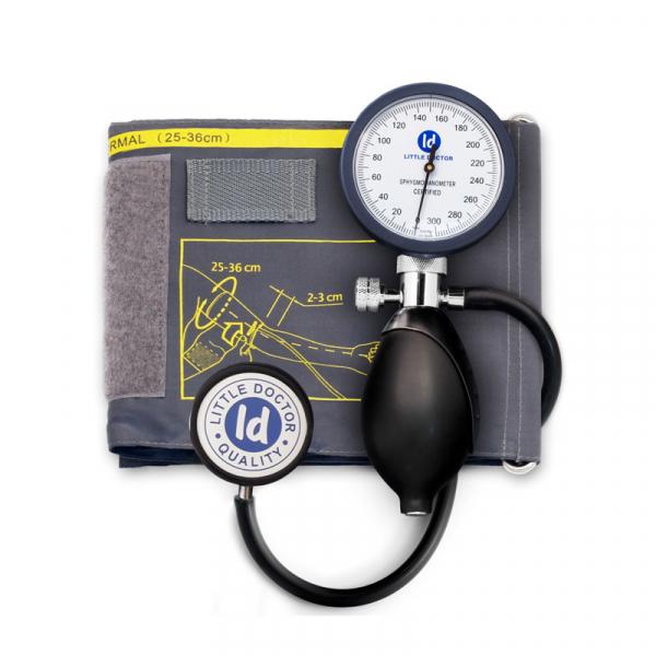 Tensiometru mecanic Little Doctor LD 81, stetoscop inclus, Manometru mare, Spatiu pentru stetoscop, Utilizare stanga-dreapta 0