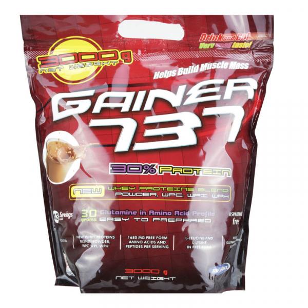 Supliment de proteine Megabol Gainer 737, 3 kg, gainer puternic si complex pentru cresterea masei musculare 0