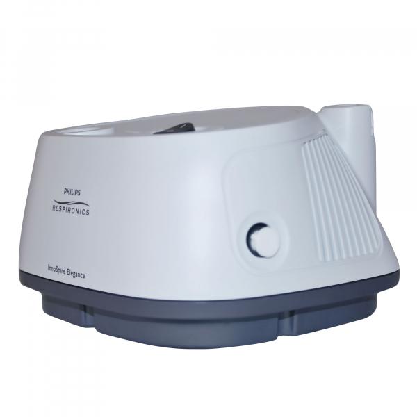 Aparat aerosoli cu compresor Philips Respironics InnoSpire Elegance,  MMAD 2.90 μm, Operare Continua, Sistem Active Venturi 3