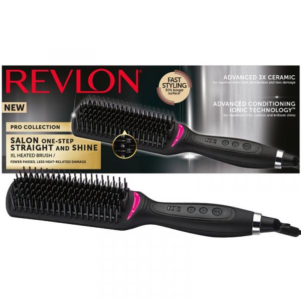 Perie electrica fixa REVLON Pro Collection Salon One Step Straight and Shine RVST2168E 0
