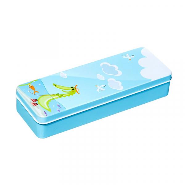 Periuta de dinti electrica VITAMMY Smile, pentru copii 3 +, cutie travel, Animatie Crocodil 5