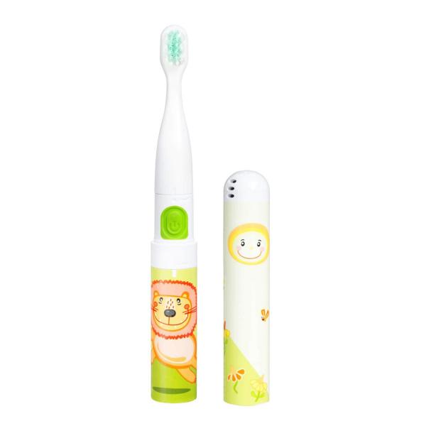 Periuta de dinti electrica VITAMMY Smile, pentru copii 3 +, cutie travel, Animatie Leu 1