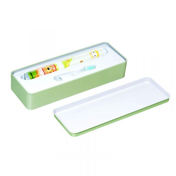Periuta de dinti electrica VITAMMY Smile, pentru copii 3 +, cutie travel, Animatie Leu 3