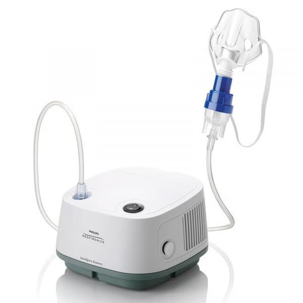 Aparat aerosoli cu compresor Philips Respironics InnoSpire Essence, MMAD 2.90 μm, sistem Active Venturi 1