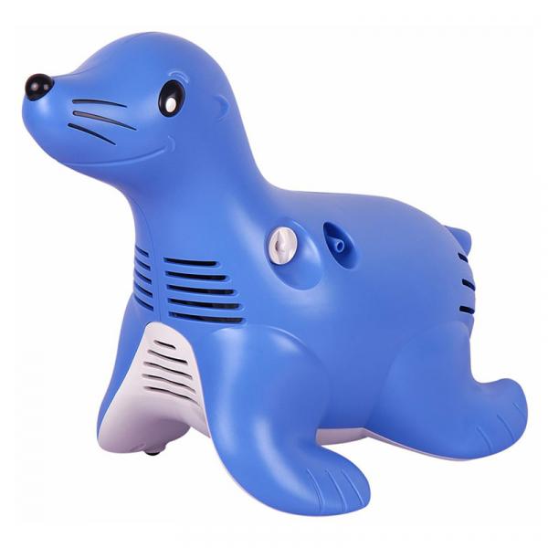 Aparat aerosoli cu compresor Philips Respironics Sami the Seal, MMAD 2.80μm, Design preferat de copii, Sistem Active Venturi, Profesional 1