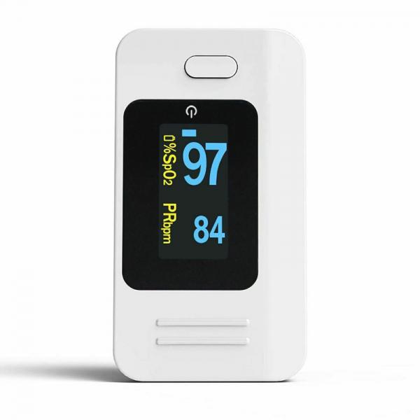 Pulsoximetru Contec CMS50D4, indica nivelul de saturatie a oxigenului din sange, masoara rata pulsului, Alb 3