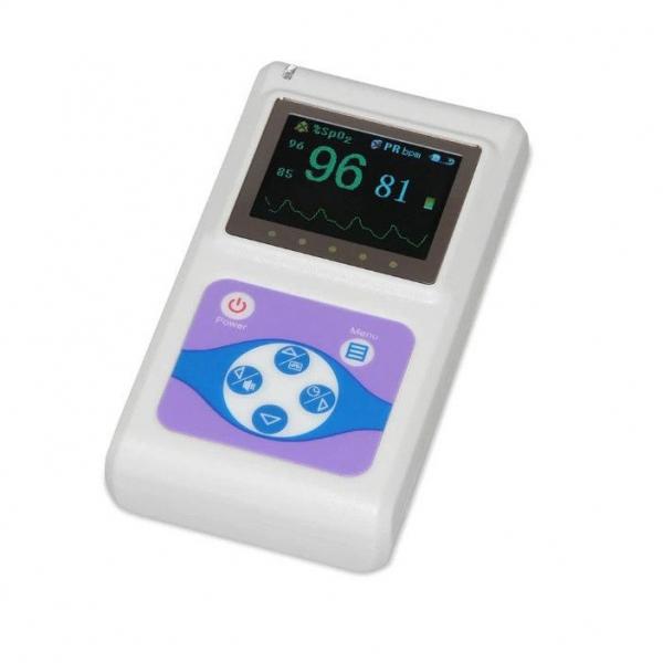 Pulsoximetru profesional Contec CMS60D, senzor adulti, masoara saturatia de oxigen si rata pulsului 0