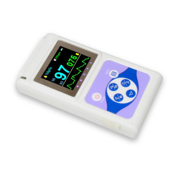 Pulsoximetru profesional Contec CMS60D, senzor adulti, masoara saturatia de oxigen si rata pulsului 1