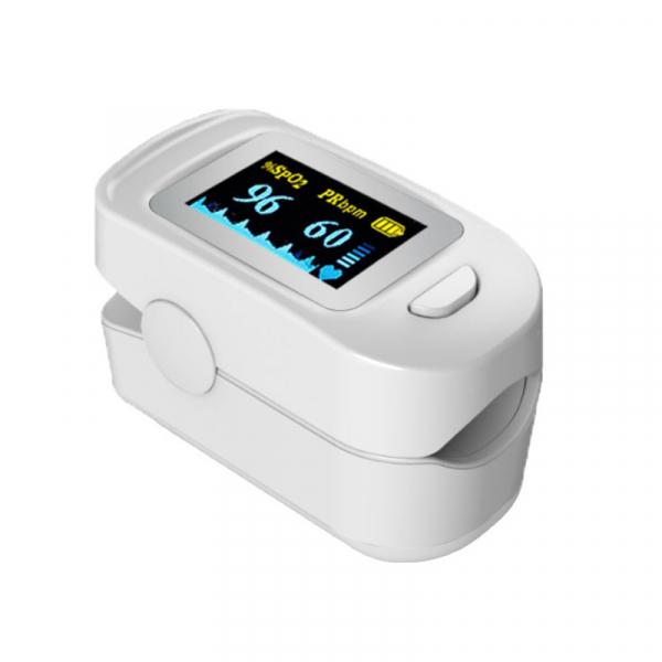 Pulsoximetru RedLine FS20C, alb, indica nivelul de saturatie a oxigenului, masoara rata pulsului 2