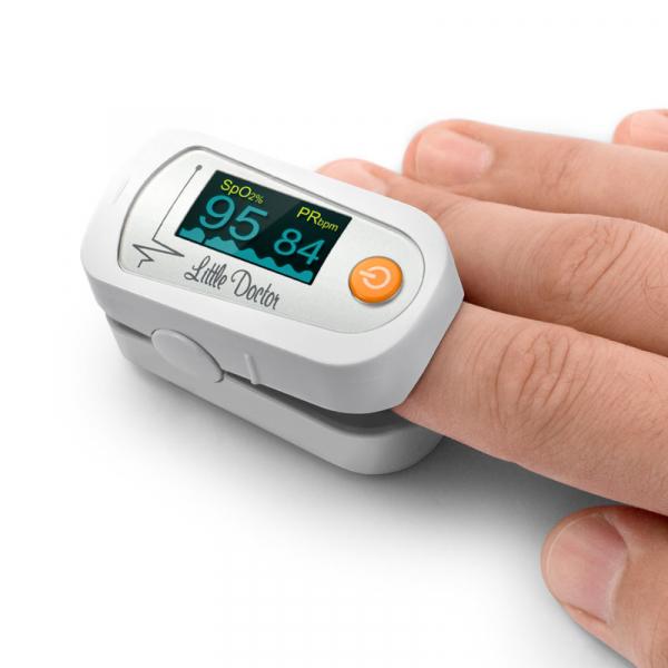 Pulsoximetru Little Doctor MD300C23, indica nivelul de saturatie a oxigenului din sange, masoara rata pulsului 2