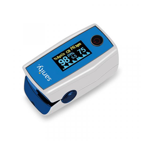 Pulsoximetru Sanity Duo Control, copii 3 ani + si adulti, masoara nivelul de saturatie a oxigenului si rata pulsului, Ecran OLED [0]