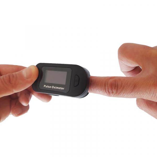Pulsoximetru RedLine FS20C, negru,  indica nivelul de saturatie a oxigenului, masoara rata pulsului 3