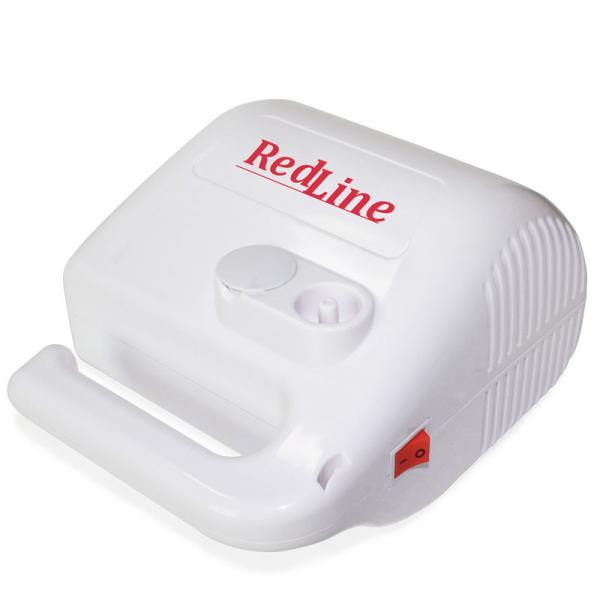 Aparat aerosoli RedLine NB-315 PRO, cu compresor, MMAD variabil 2.44 si 4µm, furtun de 2 si 6 m 3
