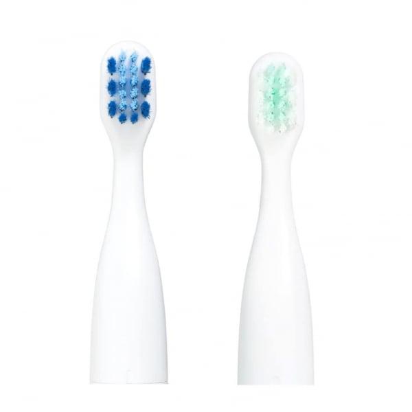 Set 2 rezerve periuta de dinti VITAMMY Smile, Verde-Albastru 2