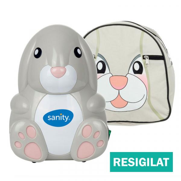 Aparat aerosoli cu compresor Sanity Baby Inhaler, resigilat, accesorii noi [0]