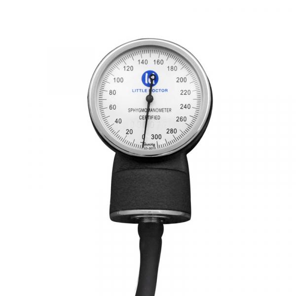 Tensiometru mecanic Little Doctor LD 70NR, profesional, manseta LARGE 25 - 40 cm, fara stetoscop, manometru din metal 1