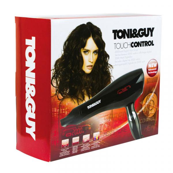 Uscator de par TONI & GUY Touch Control TGDR5356E,  25 viteze/ trepte de temperatura 2