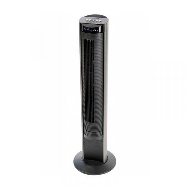 Ventilator turn Honeywell HO-5500RE, panou de control cu telecomanda in carcasa, 103,6 cm, 3 programe, Negru 1