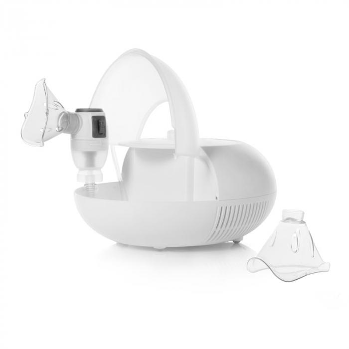 Aparat aerosoli cu compresor Sanity Pro Inhaler si irigator Nosalek Jet, 2 in 1 3
