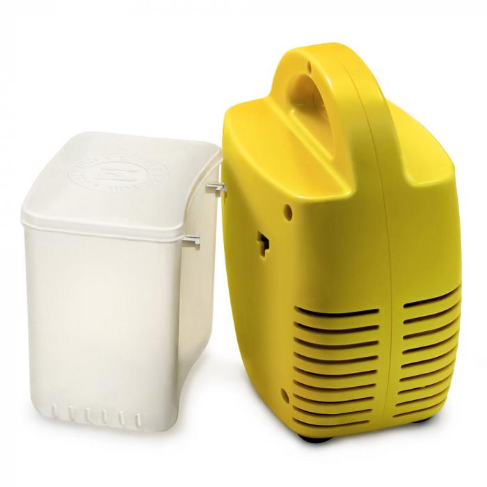 Aparat aerosoli Little Doctor LD 211 C, cu compresor, galben, cutie pentru accesorii, 3 dispensere, 3 masti [2]