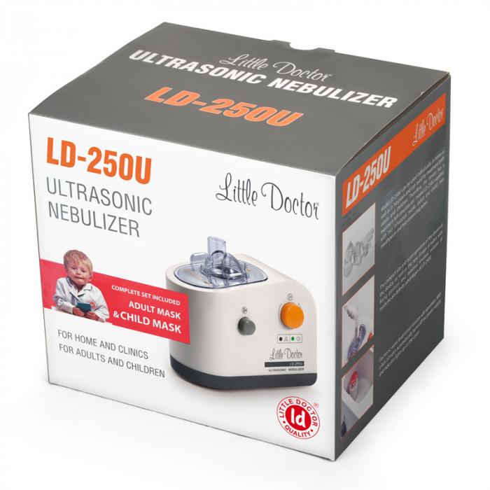 Aparat aerosoli ultrasunete Little Doctor LD 250U PRO, kit suplimentar de accesorii [2]