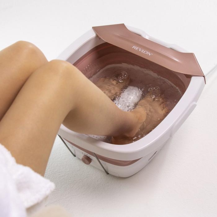 Aparat de hidromasaj pliabil pentru picioare REVLON Ultimate Indulgence Foot Spa, resigilat [2]
