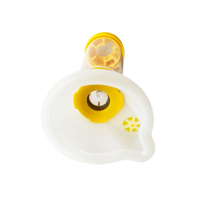 Camera inhalare Breath Chamber cu masca medie, 7-14 ani, faciliteaza tratamentul cu inhalatoare [3]